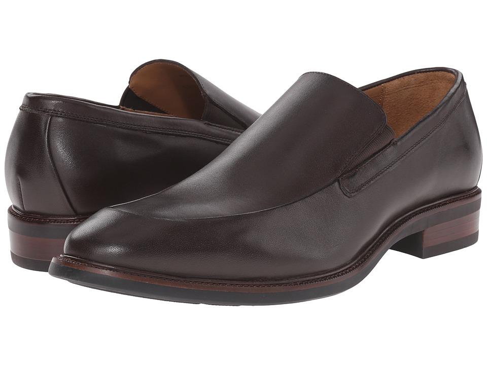 Cole Haan - Warren Venetian (Dark Brown Waterproof) Men's Shoes