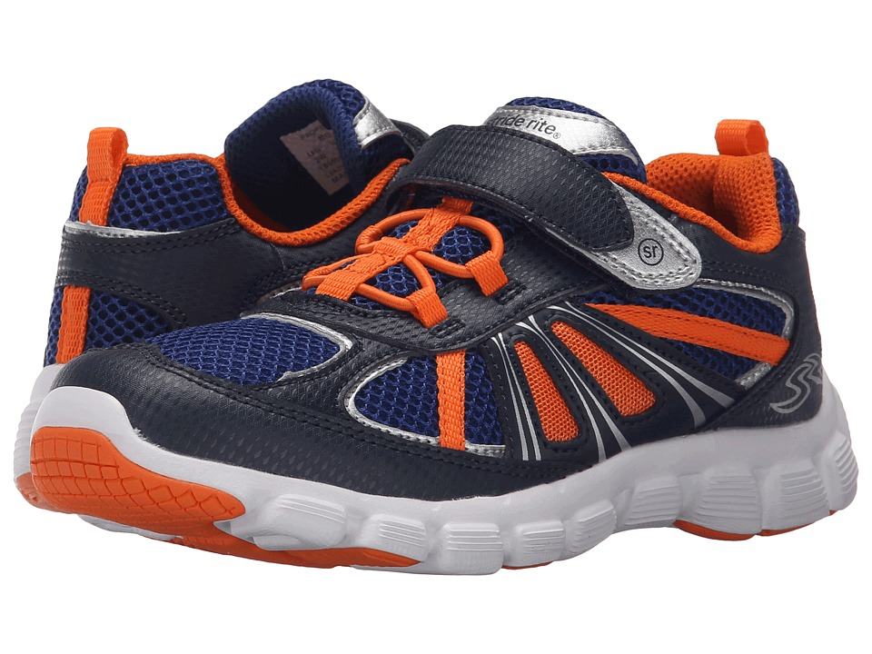 Stride Rite - Propel 2 A/C (Little Kid) (Navy/Orange) Boy's Shoes