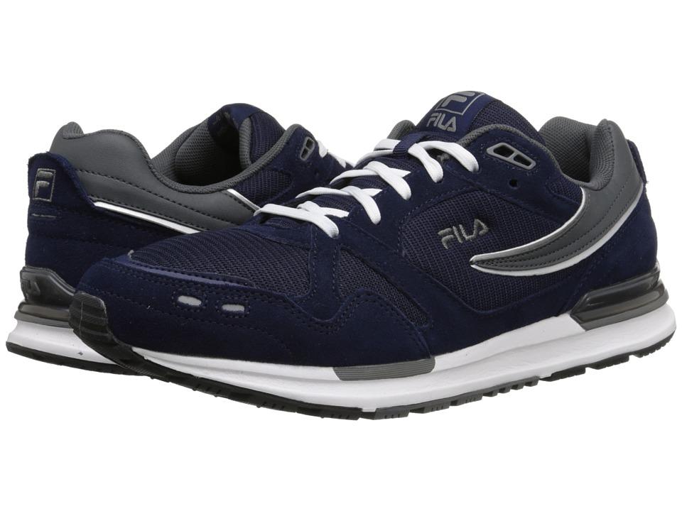 Fila - Retro Jogger (Fila Navy/Pewter/White) Men's Shoes