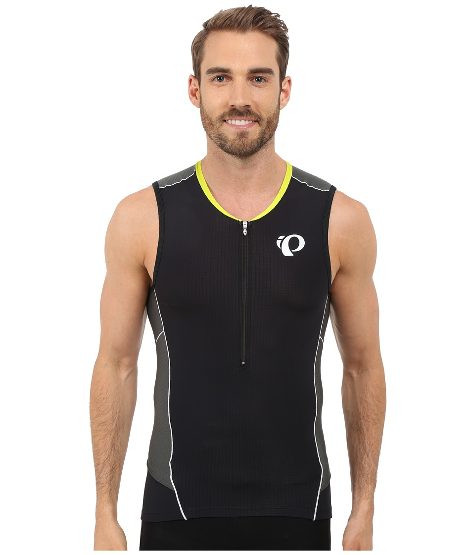 Pearl Izumi - Elite Pursuit Tri SL Jersey (Black) Men's Workout