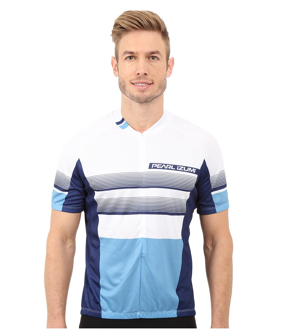 Pearl Izumi - Select LTD Jersey (Splitz Blue/Blue) Men's Workout
