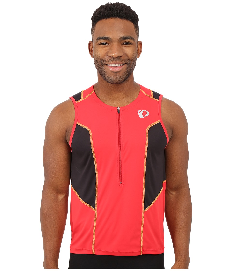 Pearl Izumi - Select Pursuit Tri SL Jersey (True Red/Black) Men's Workout