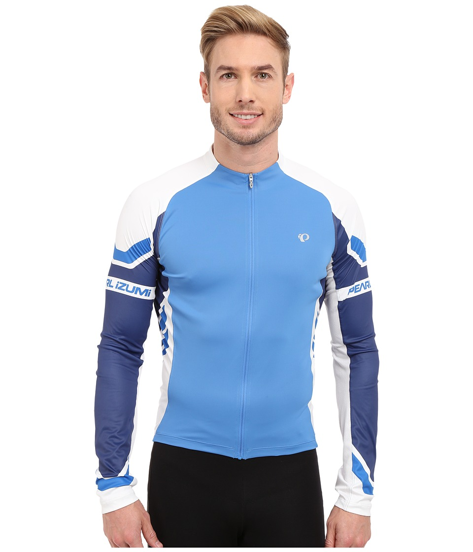 Pearl Izumi - ELITE L/S Jersey (Blue/Blue) Men's Workout