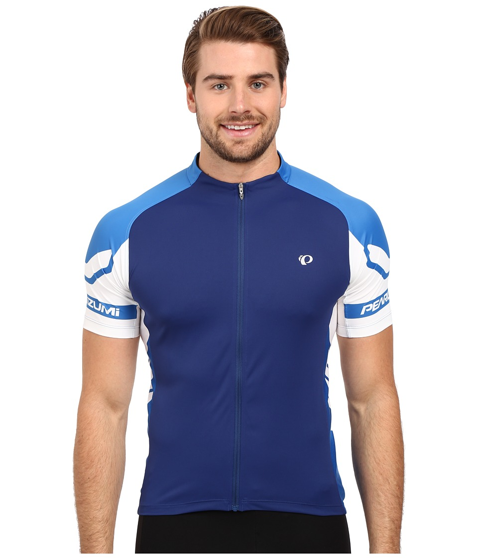 Pearl Izumi - ELITE Jersey (Blue Depths/Sky Blue) Men's Workout