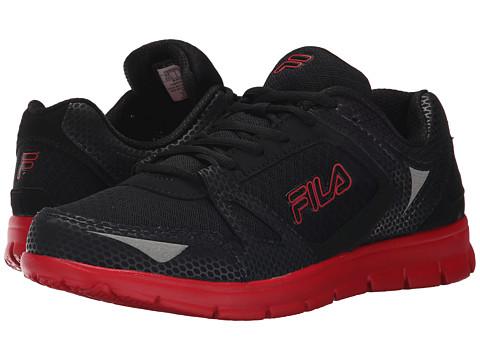 Fila - Nrg (Black/Black/Fila Red) Men