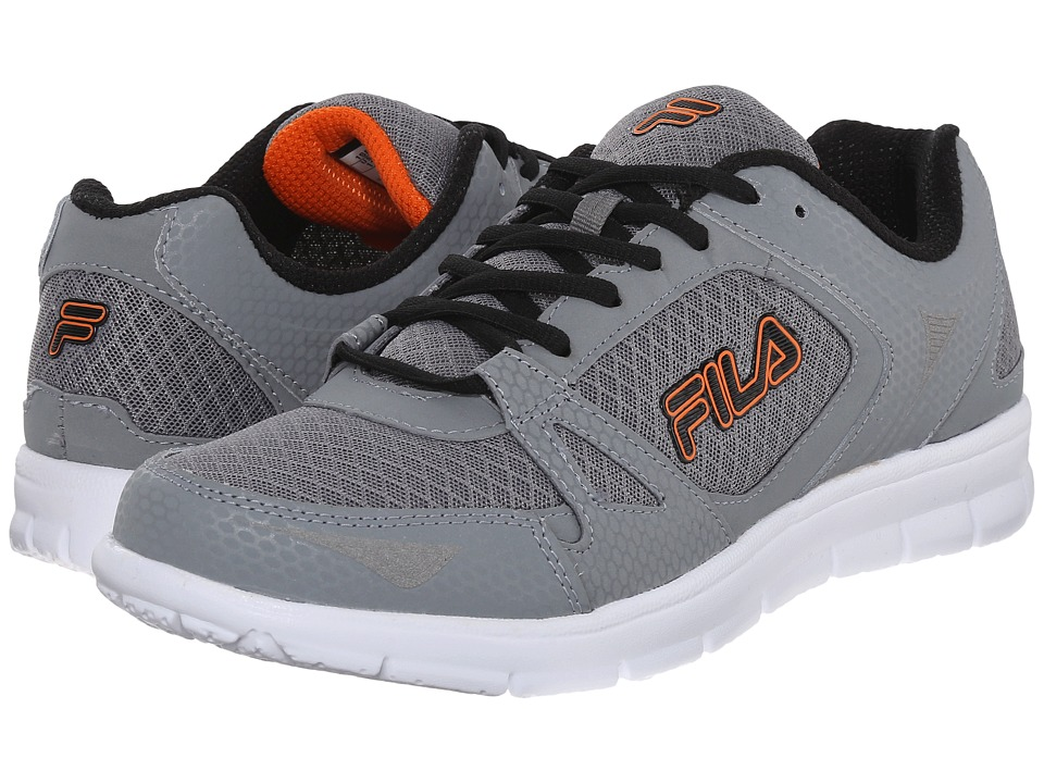 Fila - Nrg (Monument/Black/Vibrant Orange) Men