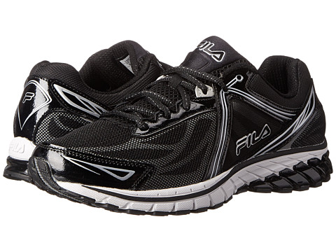 Fila - Finix 2 Energized (Black/Black/Metallic Silver) Men