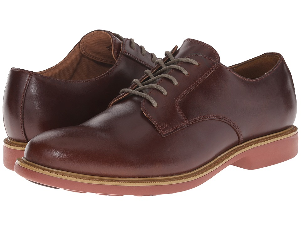 Cole Haan - Great Jones Plain Oxford (Coordavan Brick) Men's Lace up casual Shoes