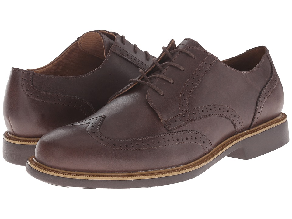 Cole Haan - Great Jones Wing Oxford (Chestnut Waterproof) Men's Lace Up Wing Tip Shoes