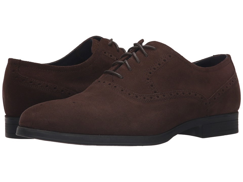 Cole Haan - Montgomery Plain Oxford (Chestnet Suede) Men's Lace up casual Shoes