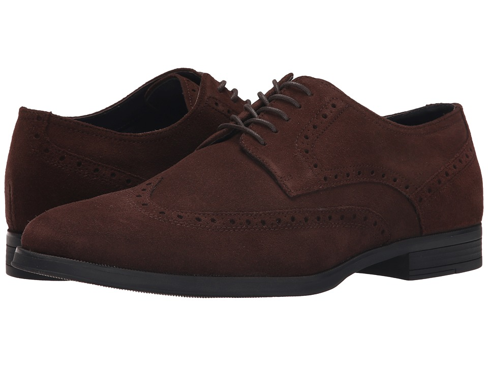 Cole Haan Montgomery Wing Oxford (Chestnut Suede) Men