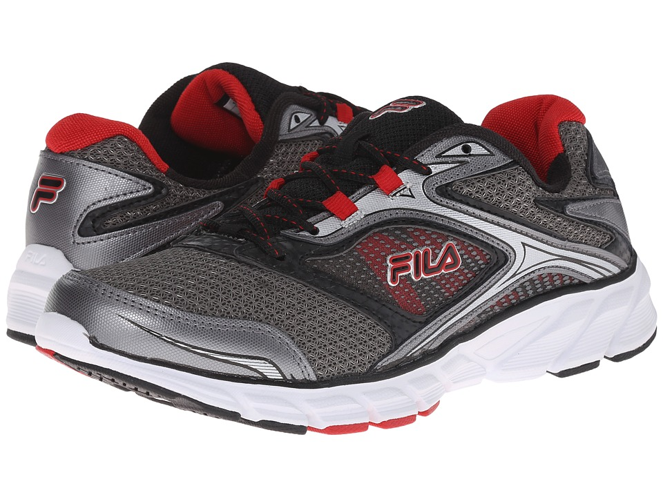 Fila Stir Up (Dark Silver/Black/Fila Red) Men