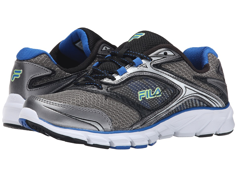 Fila - Stir Up (Dark Silver/Black/Prince Blue) Men
