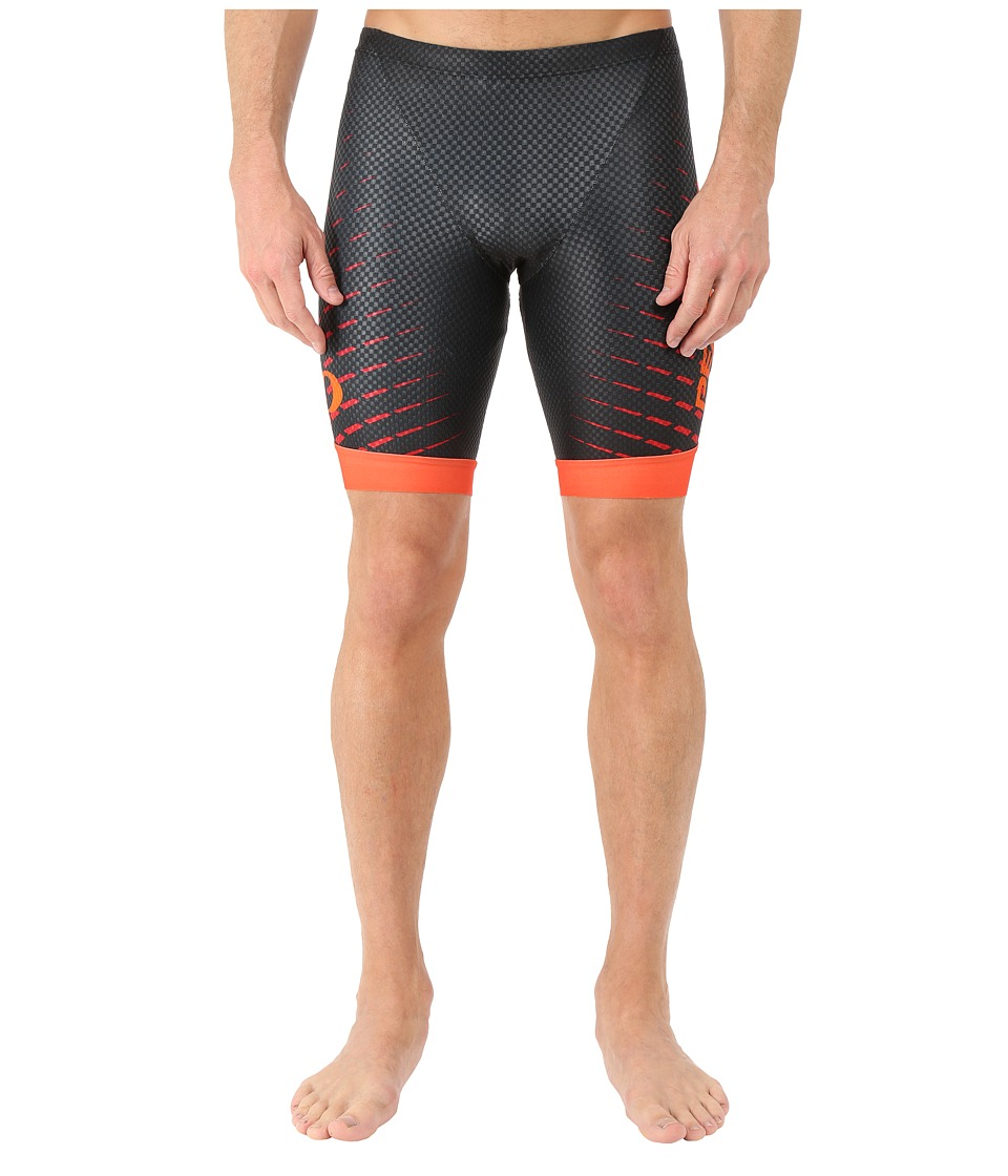 Pearl Izumi - P.R.O. In-R-Cool Tri Short (Black/Orange Red) Men's Workout
