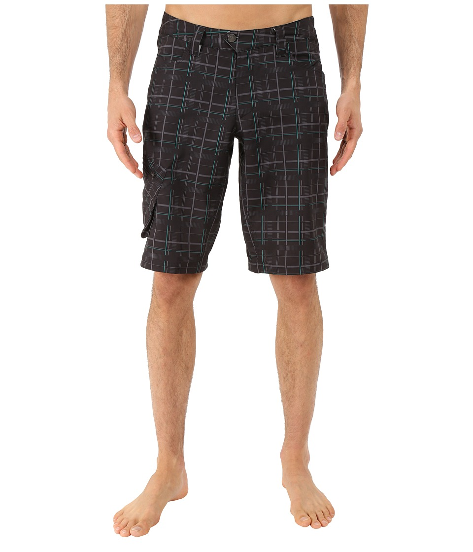 Pearl Izumi - Canyon Shorts - Plaid (Plaid) Men's Shorts