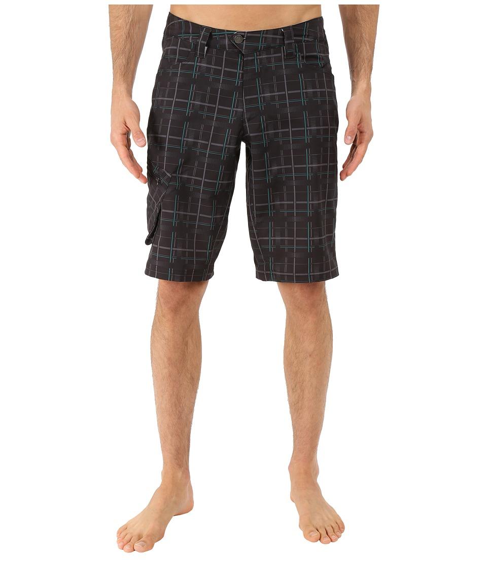 Pearl Izumi - Canyon Shorts - Plaid (Plaid) Men's Shorts