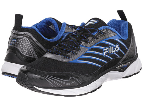 Fila - Forward (Black/Dark Silver/Prine Blue) Men