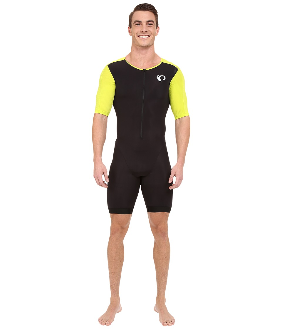Pearl Izumi - Elite Pursuit Tri Octane Suit (Black/Lime Punch) Men's Race Suits One Piece