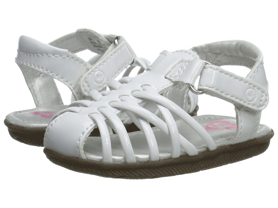 Stride Rite - Lil Adaliah (Infant/Toddler) (White) Girls Shoes