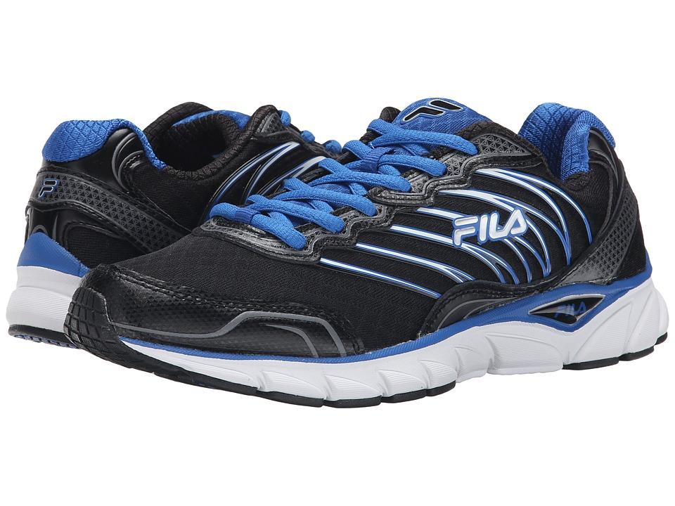 Fila - Countdown (Black/Prince Blue/Dark Silver) Men's Shoes