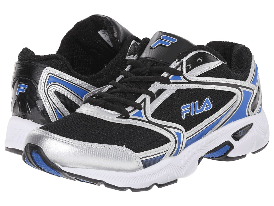 Fila Xtent 2 (Black/Prince Blue/Metallic Silver) Men