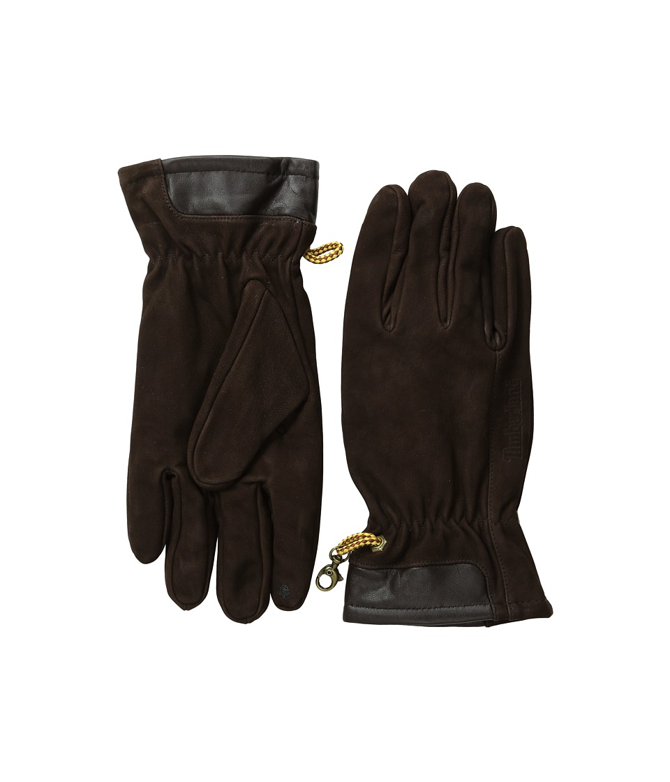Timberland - GL31241 Heritage Nubuck Boot Glove (Brown) Extreme Cold Weather Gloves
