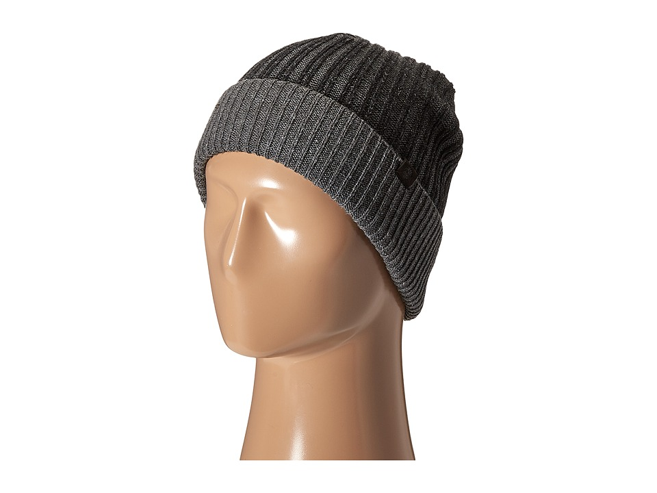 Timberland - TH340201 Pleated Watch Cap (Black) Caps
