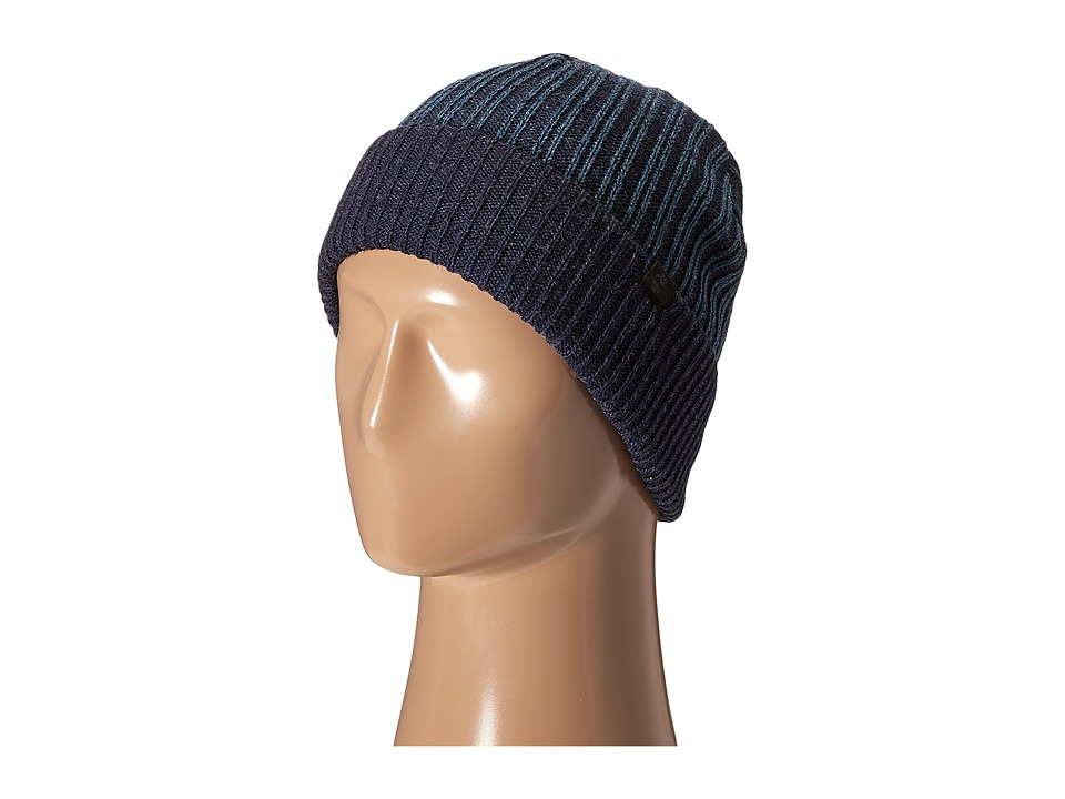 Timberland - TH340201 Pleated Watch Cap (Cornet Blue) Caps