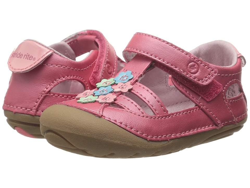 Stride Rite - SM Luisa (Infant/Toddler) (Coral) Girls Shoes