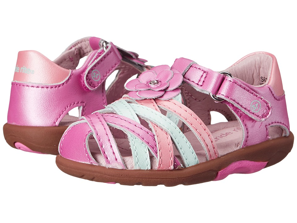 Stride Rite - SRT Lily (Toddler) (Pink Multi) Girls Shoes