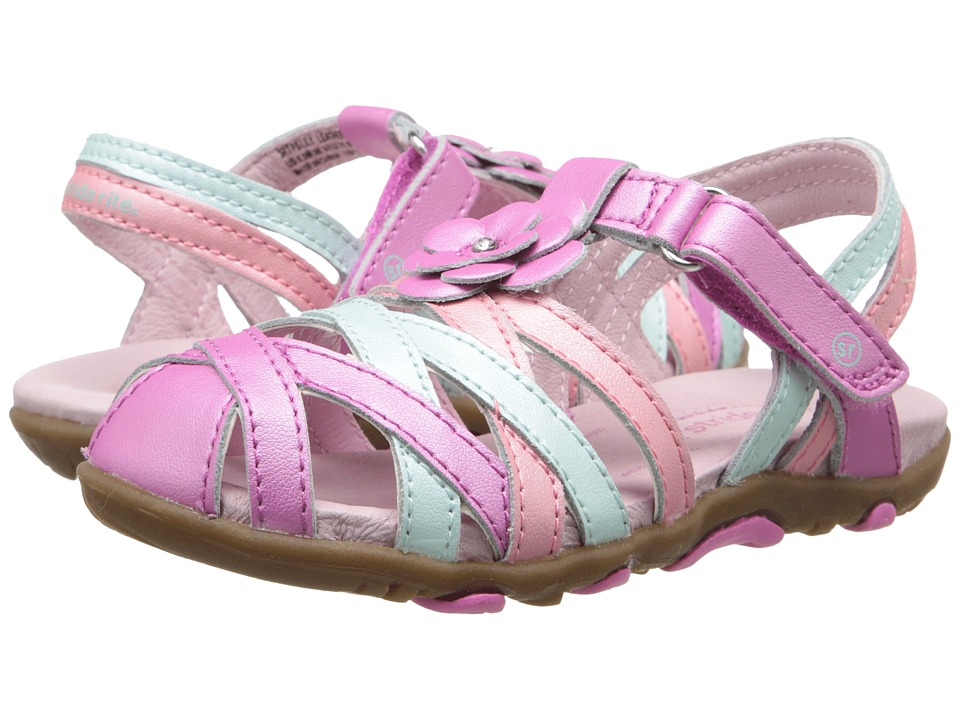 Stride Rite - SRT PS Lily (Toddler/Little Kid) (Pink Multi) Girls Shoes