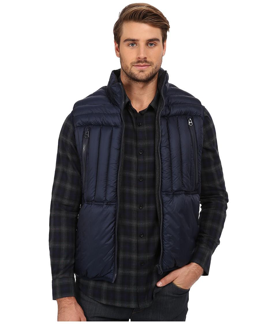 French Connection - Bordelo Vest (Marine Blue) Men