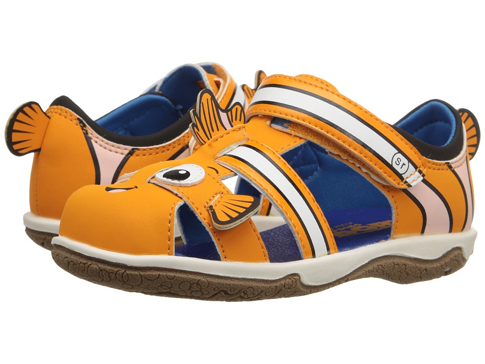 Stride Rite - Nemo Fisherman (Toddler) (Orange) Boys Shoes