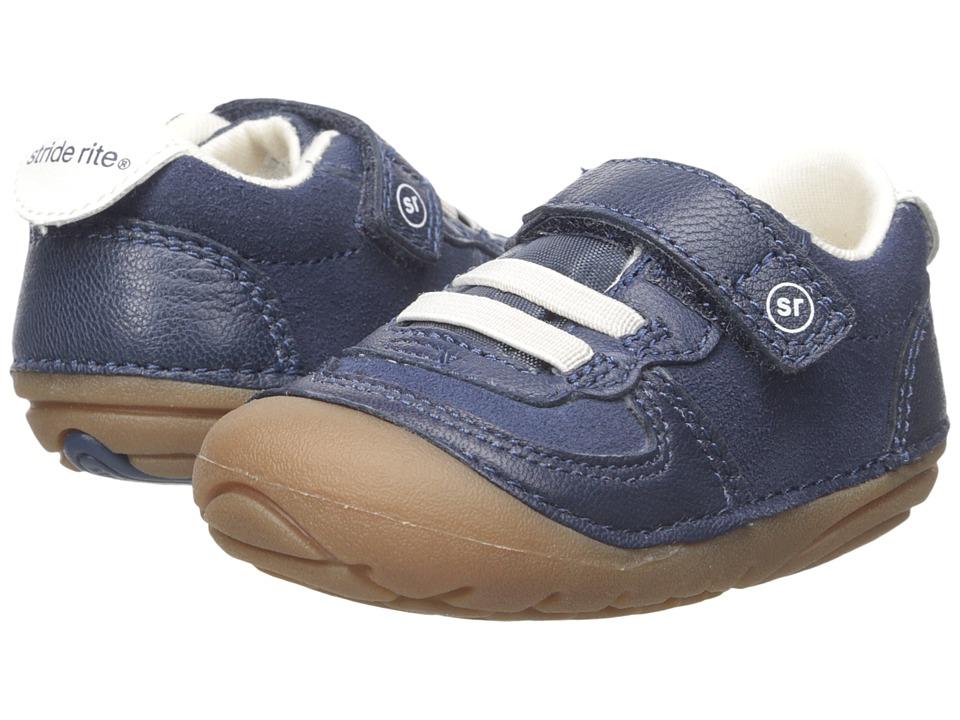 Stride Rite - SM Barnes (Infant/Toddler) (Navy) Boy's Shoes