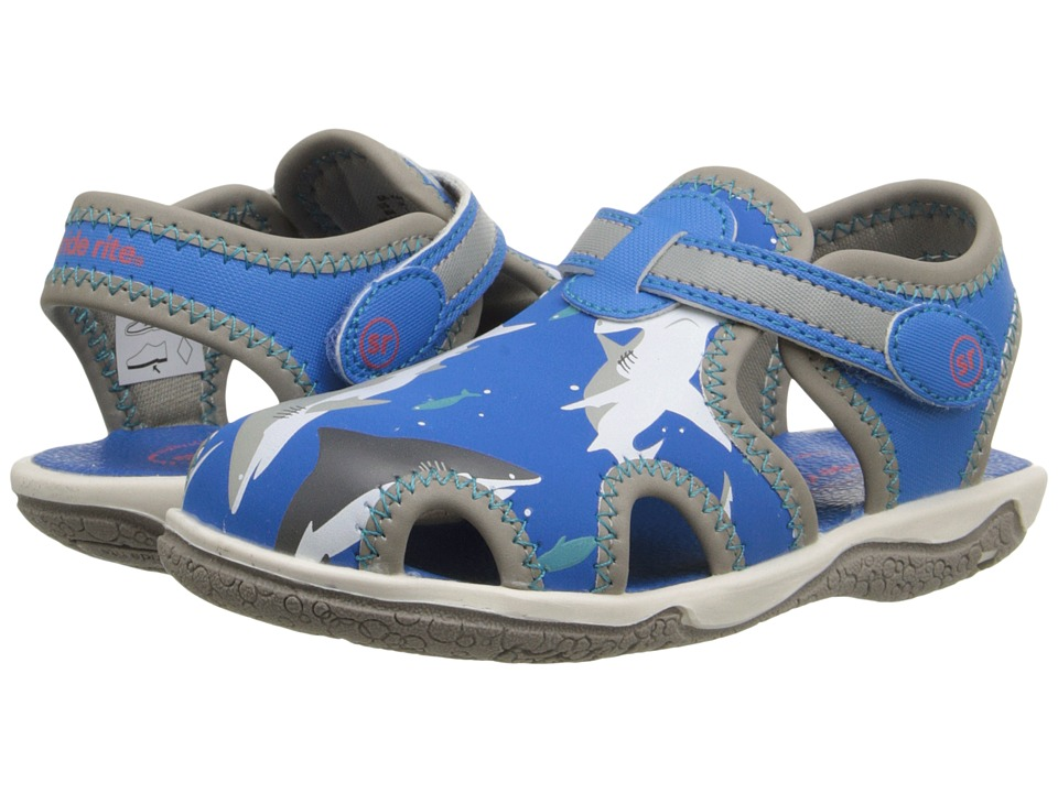 Stride Rite - Koy (Toddler) (Blue Shark) Boys Shoes
