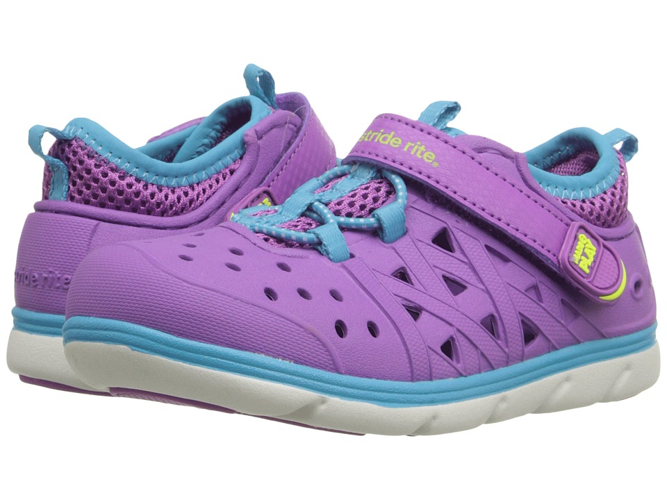 Stride Rite - Made 2 Play Phibian (Toddler/Little Kid) (Purple) Girls Shoes