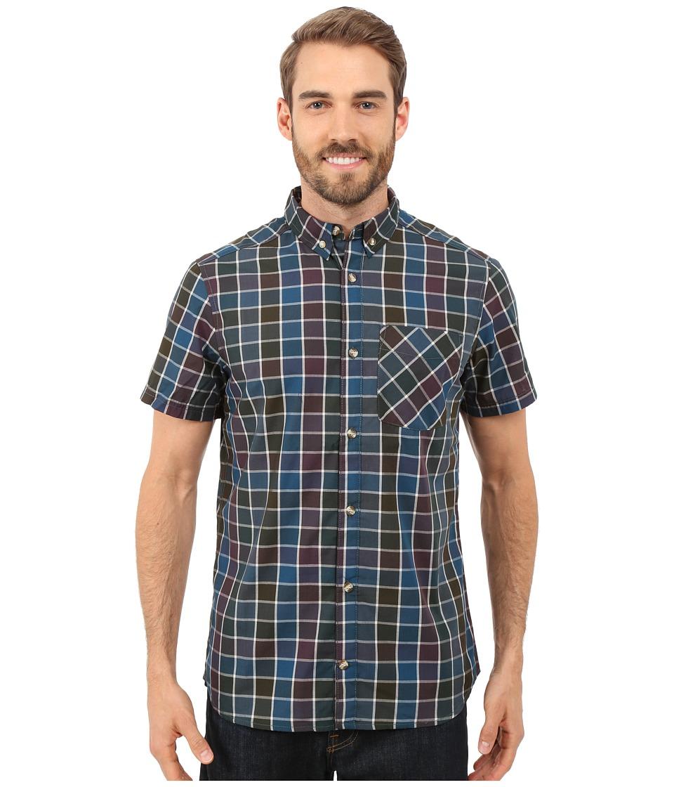 adidas Outdoor - Hiking Short Sleeve Shirt 3 (Mineral Green) Men's Short Sleeve Button Up