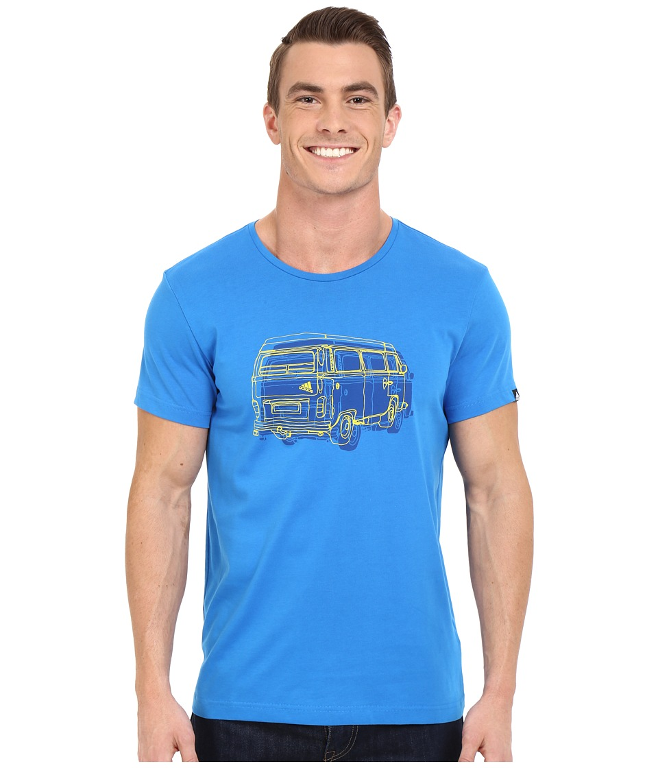 adidas Outdoor - Outdoor Truck Tee (Shock Blue) Men's T Shirt