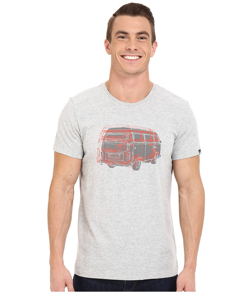 adidas Outdoor - Outdoor Truck Tee (Medium Grey Heather) Men's T Shirt