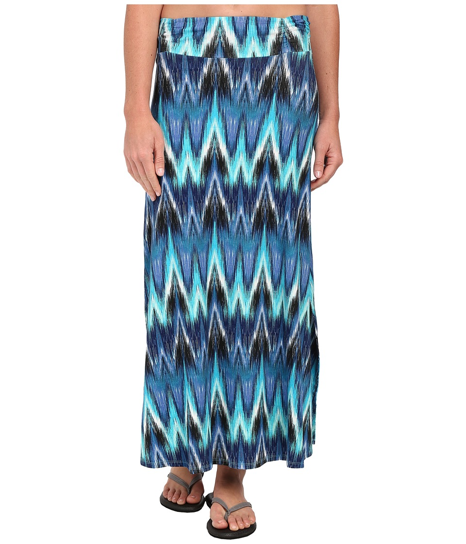 Aventura Clothing - Nevis Maxi Skirt (Mosaic Blue) Women's Skirt