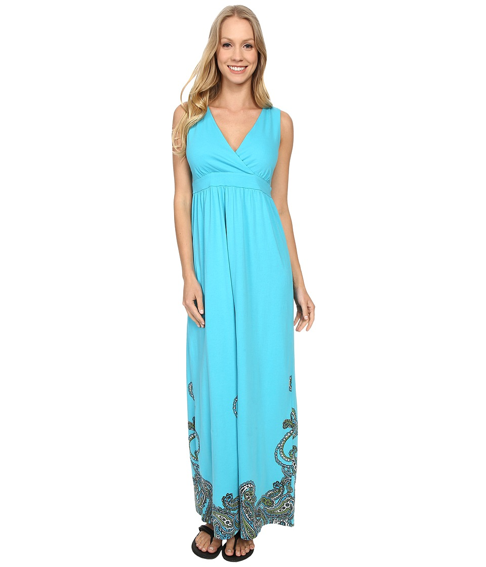 Aventura Clothing - Ashby Maxi Dress (Peacock Blue) Women's Dress