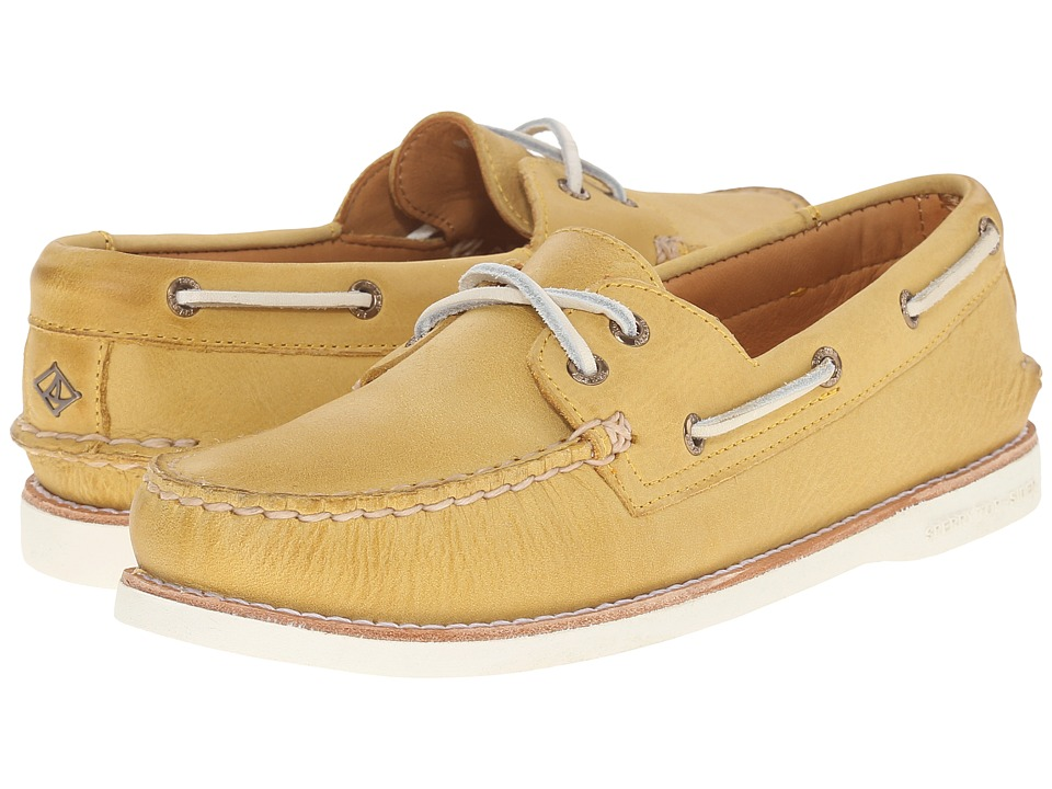 Sperry - Gold Cup A/O Seasonal (Yellow) Women's Lace up casual Shoes