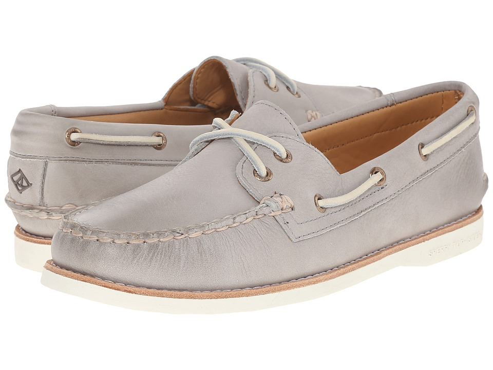 Sperry Top-Sider - Gold Cup A/O Seasonal (Light Grey) Women's Lace up casual Shoes