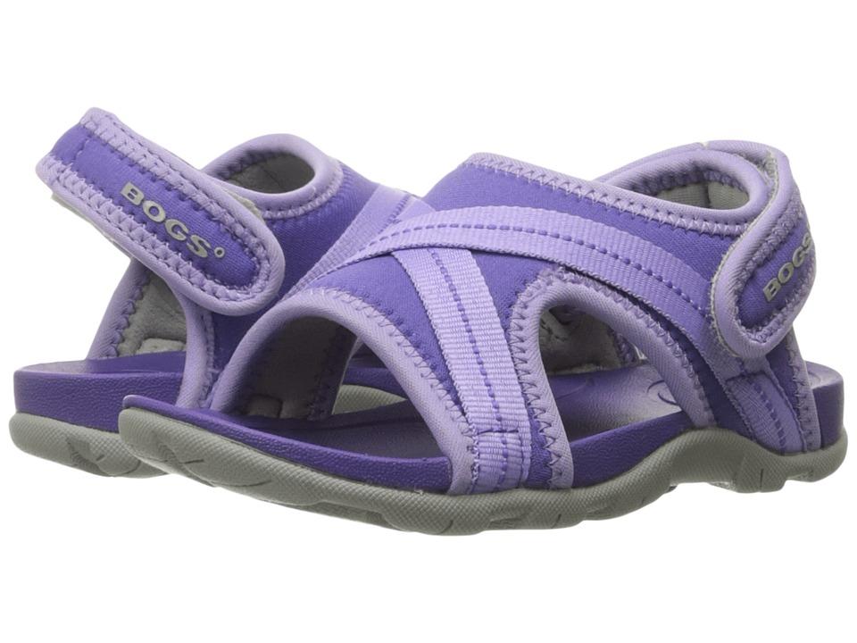 Bogs Kids - Bluefish (Toddler/Little Kid) (Violet Multi) Girls Shoes
