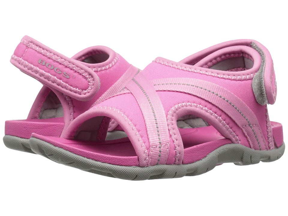 Bogs Kids - Bluefish (Toddler/Little Kid) (Pink Multi) Girls Shoes