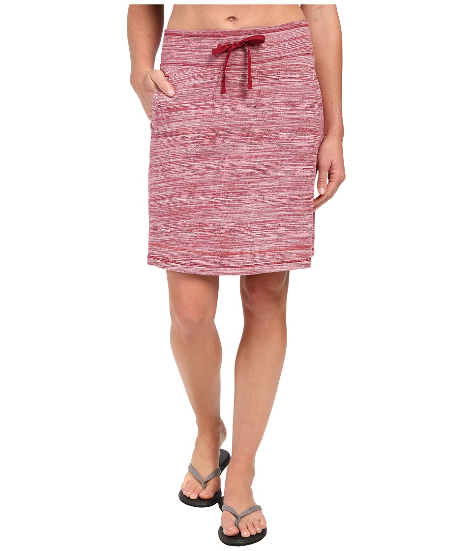 Aventura Clothing Finley Skirt (Deep Claret) Women