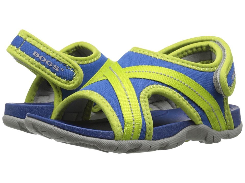 Bogs Kids - Bluefish (Toddler/Little Kid) (Royal Multi) Boys Shoes