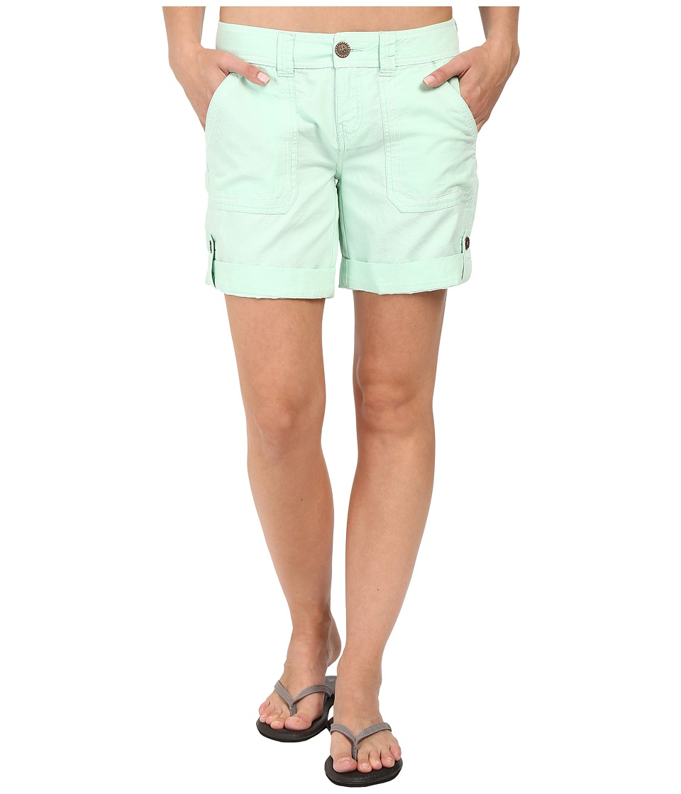 Aventura Clothing - Harlow Shorts (Bird's Egg Green) Women's Shorts