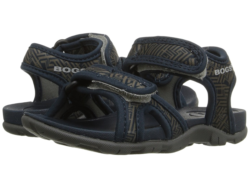 Bogs Kids - Whitefish Shatter (Toddler) (Navy Multi) Boys Shoes
