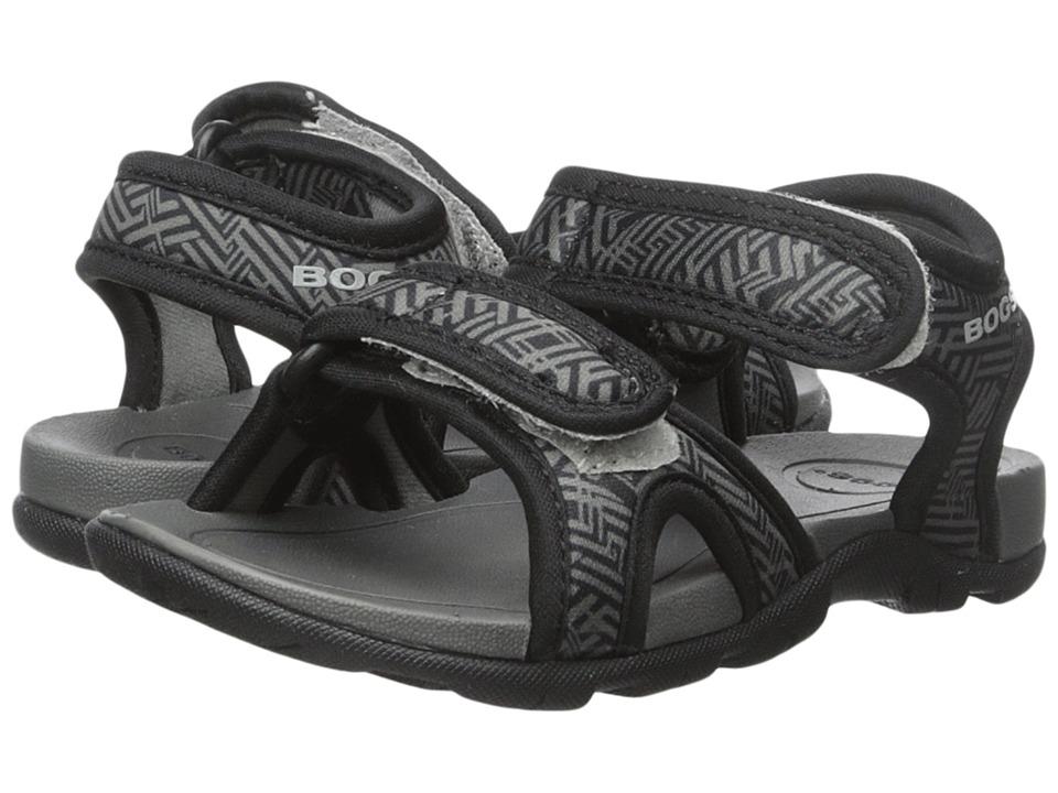 Bogs Kids - Whitefish Shatter (Toddler/Little Kid/Big Kid) (Black Multi) Boys Shoes